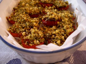 Pomodorini ciliegia a lunga cottura.