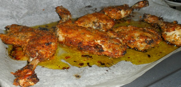 pollo con corn flakes