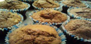 Muffin alla pera e cioccolato