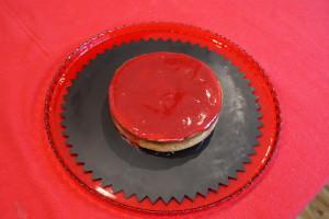 Crostata di lamponi con crema alla vaniglia