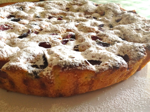 Torta di ciliegie, la ricetta