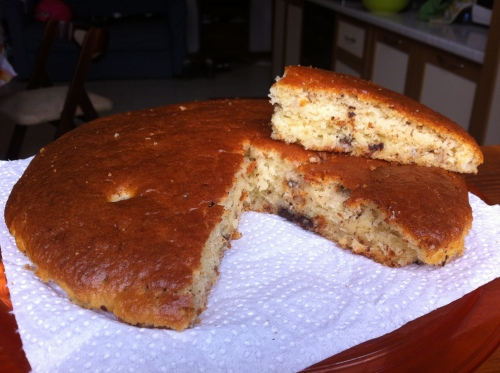 Torta yogurt e banana