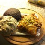 Lebkuchen al cioccolato, al pistacchio e alle nocciole
