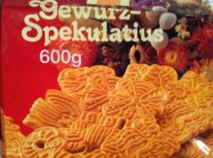 Spekulatius (biscotti natalizi speziati)