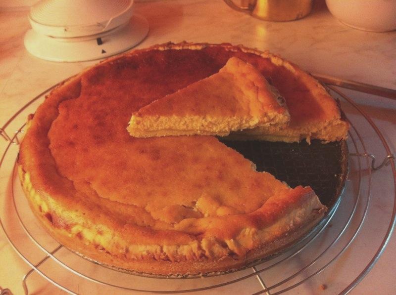 Ricetta Crostata con crema di arancia e quark.