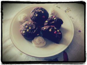 muffin vegani al cacao
